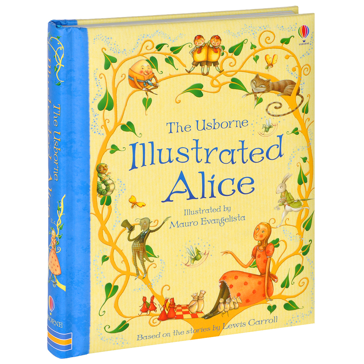 The Usborne Illustrated Alice lewis carroll alice through the looking glass