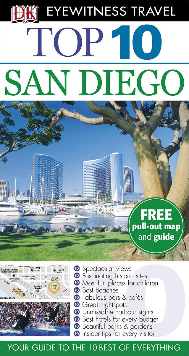 Фото San Diego: Top 10 (+ карта) dk eyewitness top 10 travel guide scotland