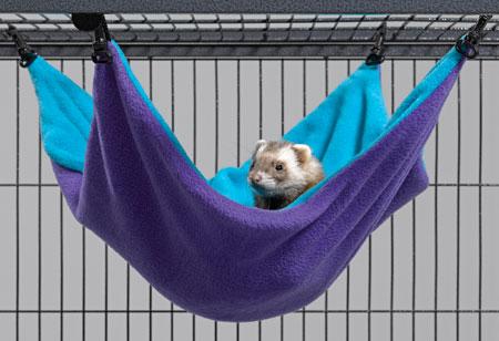 Гамак для хорьков Midwest, большой, 43 см х 33 см х 20 см гамак для хорьков midwest hammock hideaway