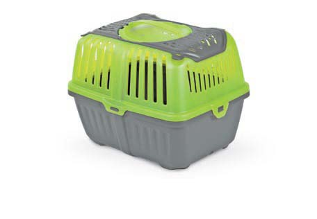 Переноска для грызунов MPS Neyo, цвет: серо-зеленый, 30 см х 23 см х 23 смS01150100Переноска MPS Neyo, выполненная из высококачественного пластика, прекрасно подойдет для транспортировки грызунов, а также собак и щенков мелких пород, небольших кошек и котят. Дно переноски снабжено устойчивыми ножками. Крышка с отверстиями для вентиляции оснащена удобной ручкой для переноски. Переноска снабжена надежным замком.