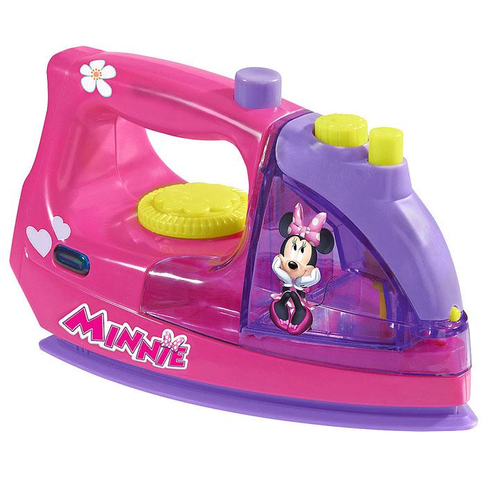 Игрушка Simba Minnie Mouse: Утюг, цвет: розовый, фиолетовый simba паровоз инерционный цвет желтый