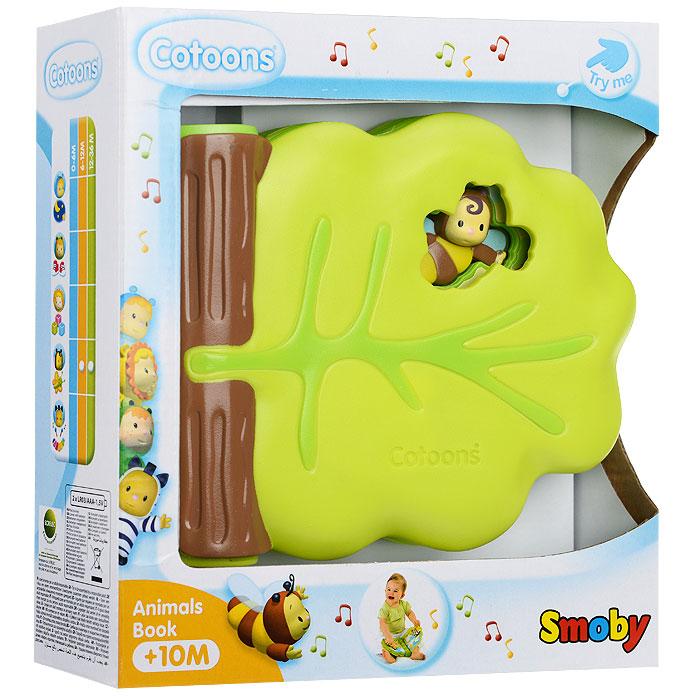 Smoby Развивающая игрушка Cotoons: Музыкальная книжечка smoby стульчик сидение для ванной cotoons цвет розовый