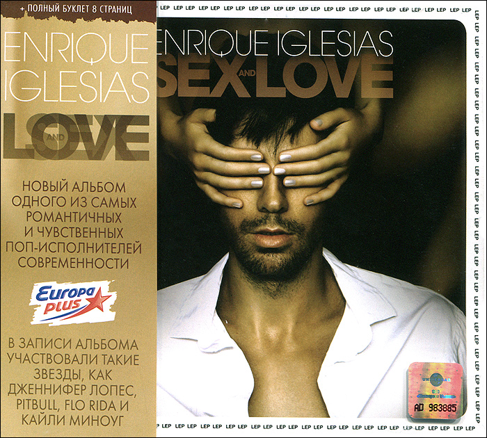 Энрике Иглесиас Enrique Iglesias. Sex And Love энрике иглесиас enrique iglesias greatest hits