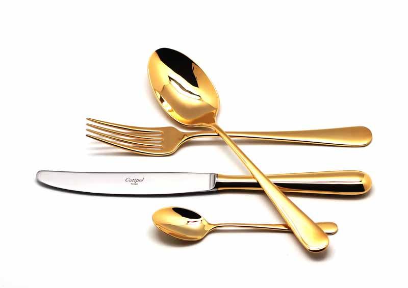 Набор столовых приборов Cutipol Alcantara Gold, 24 предмета столовые приборы 24 предмета vitesse vs 1795