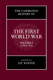 The Cambridge History of the First World War a history of the laws of war volume 3