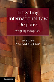 Litigating International Law Disputes international commercial disputes