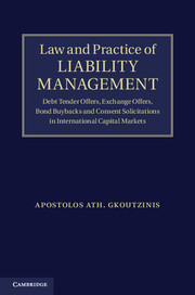 Law and Practice of Liability Management corporate debt market in the united states lesson for bangladesh