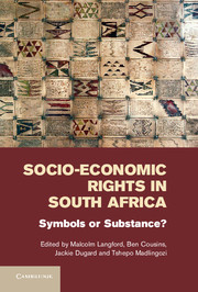 Socio-Economic Rights in South Africa under one cover eleven stories