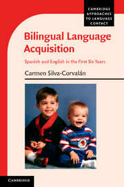 Bilingual Language Acquisition language change and lexical variation in youth language