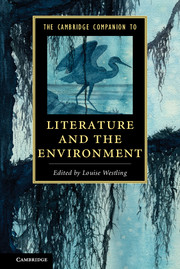 The Cambridge Companion to Literature and the Environment affair of state an