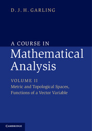A Course in Mathematical Analysis a course in mathematical analysis