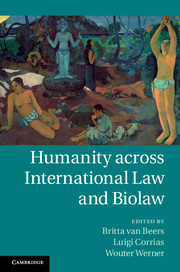 Humanity across International Law and Biolaw under one cover eleven stories