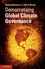Democratizing Global Climate Governance corporate governance and firm value