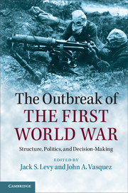 The Outbreak of the First World War boxpop lb 081 35