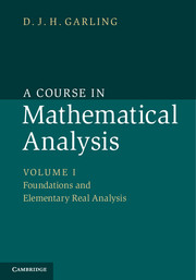 A Course in Mathematical Analysis 3 Volume Set a course in mathematical analysis