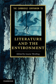 The Cambridge Companion to Literature and the Environment lateness and modern european literature