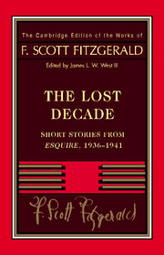 Fitzgerald: The Lost Decade the lost chord – essays on victorian music
