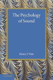 The Psychology of Sound