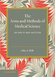 The Aims and Methods of Medical Science сумка the cambridge satchel
