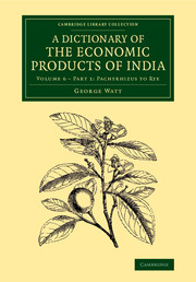 A Dictionary of the Economic Products of India the catcher in the rye