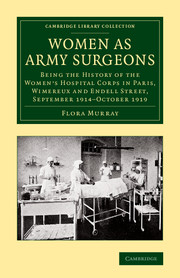 Women as Army Surgeons war and women