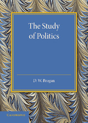 The Study of Politics the art and politics of science