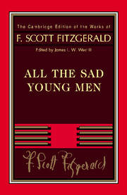 Fitzgerald: All The Sad Young Men скраб christina fitzgerald christina fitzgerald ch007lwcpc11