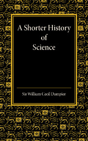 A Shorter History of Science.