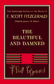 Fitzgerald: The Beautiful and Damned weir a the martian a novel