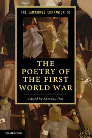 The Cambridge Companion to the Poetry of the First World War the economics of world war i