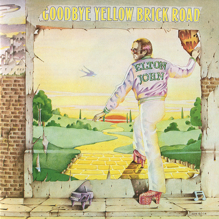 Elton John. Goodbye Yellow Brick Road