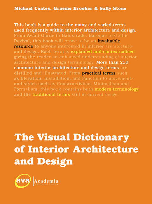 The Visual Dictionary of Interior Architecture and Design the illustrated dictionary of boating terms – 2000 essential terms for sailors