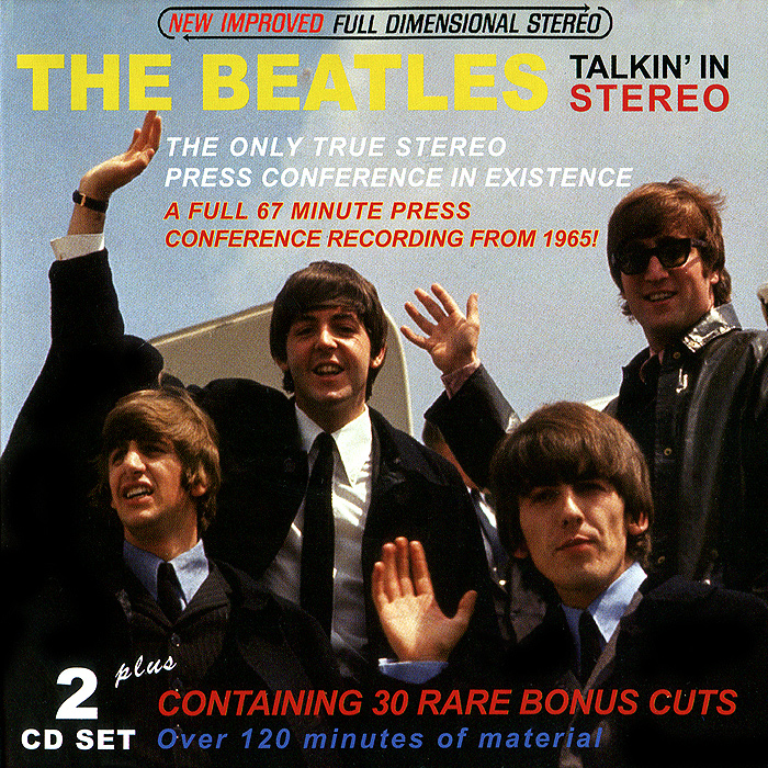 The Beatles The Beatles. Talkin' In Stereo (2 CD) cd beatles live at the hollywood bowl