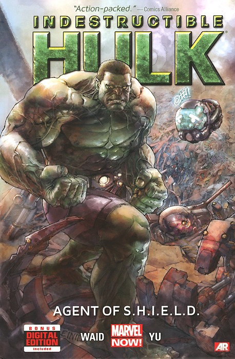 Indestructible Hulk: Volume 1: Agent of S.H.I.E.L.D. hulk the junior novel