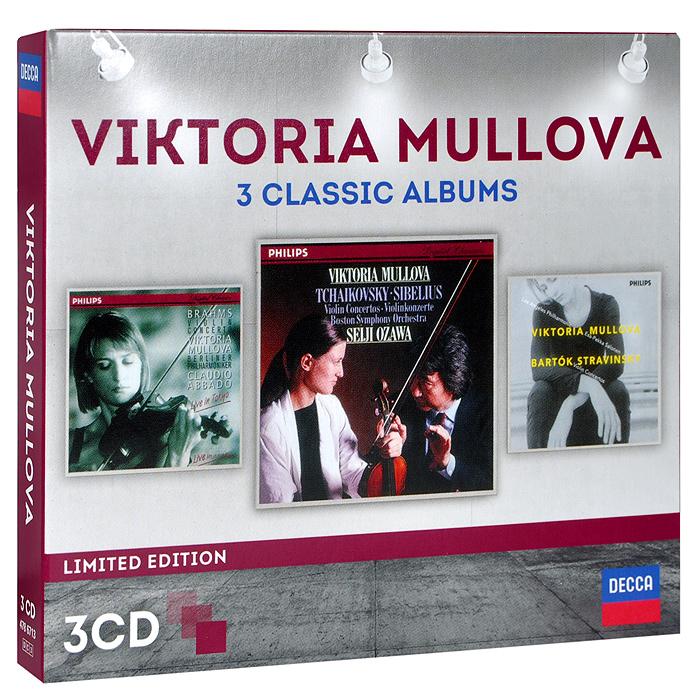 Zakazat.ru Viktoria Mullova. 3 Classic Albums. Limited Edition (3 CD)