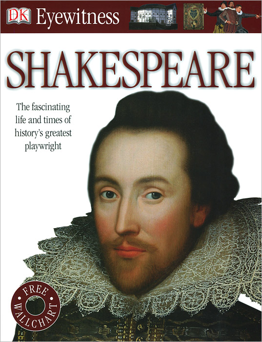 Фото Shakespeare (+ плакат) dk eyewitness top 10 travel guide scotland