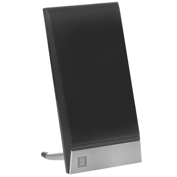 One For All SV9335 комнатная ТВ антеннаSV9335One For All SV9335 сочетает в себе функциональность и стильный дизайн. Антенна обеспечивает наилучший прием цифровом вещании (DVB-T/2) или даже Full HD и 3D. Стильный хай-тек корпус гармонично сочетается с современным домашним интерьером.