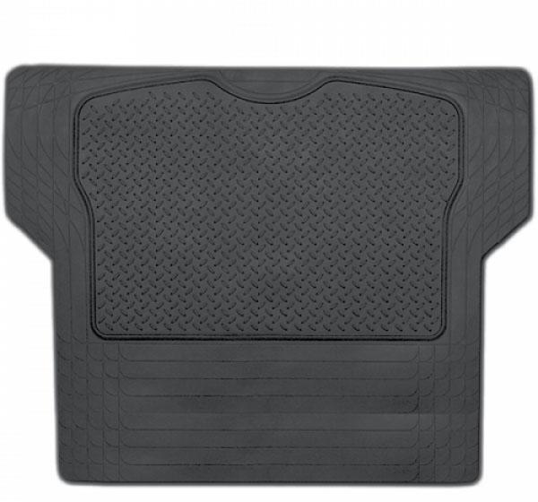 Коврик в багажник Luxury, универсальный, морозостойкий, цвет: черный, 144 см х 110 смTER-300L BKАвтомобильные ковры в багажник Автопрофи Luxury сделаны из высококачественной натуральной терморезины. Коврики изготавливаются только из высококачественных сортов резины и полимеров, что характеризует продукцию Автопрофи как экологически чистую. Коврики в багажник имеют отличные характеристики эластичности при низких температурах, не трескаются и отлично держат форму даже через несколько лет. Не подвержены воздействию масла, бензина, растворителей. Благодаря зубчатой обратной стороне, коврики не скользят в багажнике. Продукт является универсальным, поэтому вы можете самостоятельно регулировать размеры, коврика, кроме того при необходимости вы сможете его использовать в других автомобилях.
