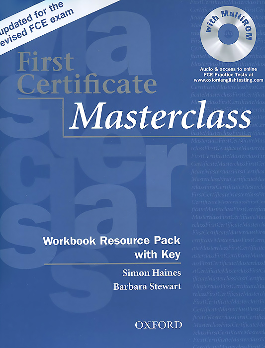 First Certificate Masterclass: Workbook Resource Pack with Key (+ CD) global elementary teacher's book resource cd pack