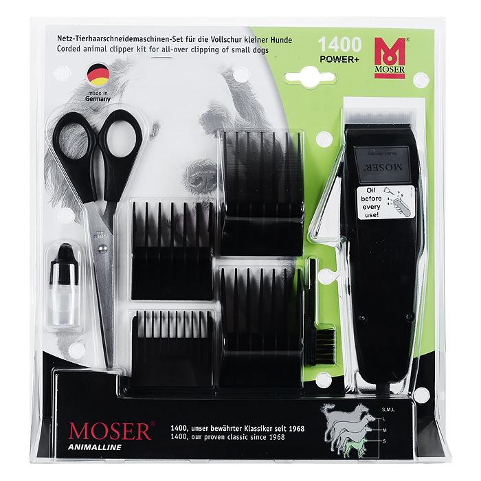 Машинка для стрижки собак мелких пород Moser. 1400-0074 moser animalline 1400 0074 в москве