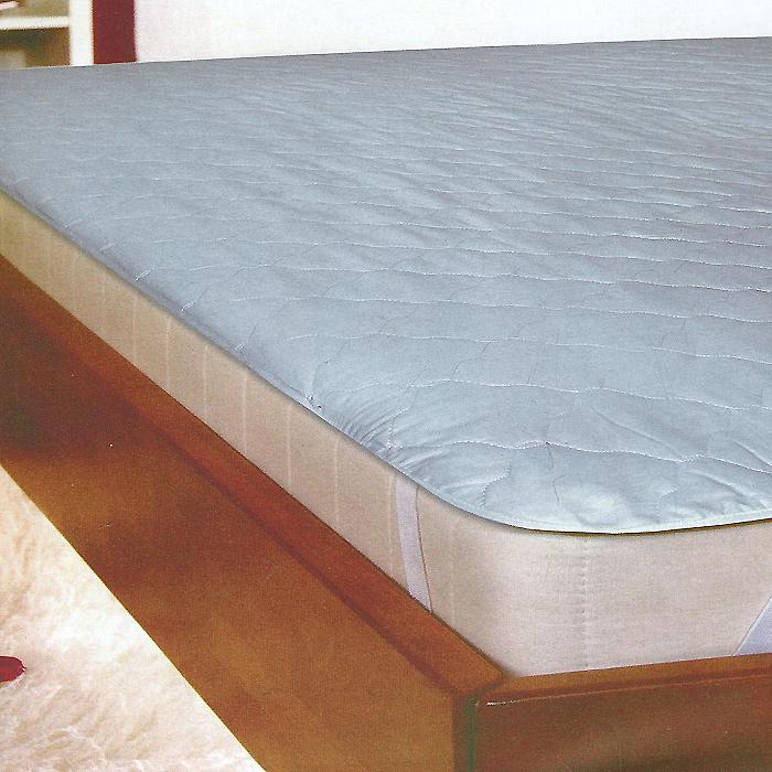 Защитный чехол для матраца Коллекция, цвет: белый, 140 х 200 см коврик домашний sunstep цвет синий 140 х 200 х 4 см