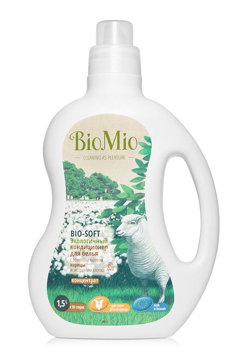 Экологичный кондиционер для белья BioMio, с эфирным маслом корицы и экстрактом хлопка, 1,5 лКК-249Экологичный кондиционер для белья BioMio оказывает эффективное и безопасное действие на волокна ткани. Экстракт хлопка придает мягкость и нежность белью после стирки. Облегчает глажку белья и обладает антистатическим эффектом. Концентрированная формула обеспечивает экономичный расход. Безопасен для планеты. Аромат эфирного масла корицы согревает, умиротворяет и вдохновляет.Не содержит: фосфаты, агрессивные ПАВ, SLS/SLES, ПЭГ, хлор, нефтепродукты, искусственные ароматизаторы и красители. BioMio - линейка эффективных средств для дома, использование которых приносит только удовольствие. Уборка помогает не только очистить и гармонизировать свое пространство, но и себя, свои мысли, поэтому важно ее делать с радостью. Средства, созданные с любовью и заботой, помогут в этом и идеально справятся с загрязнениями, оставаясь при этом абсолютно безопасными и экологичными. Благодаря действию натуральных эфирных масел, они поднимут настроение и подарят наслаждение, а натуральные активные компоненты бережно позаботятся о коже рук во время стирки и уборки. Средства BioMio незаменимы, если в доме есть ребенок.Уважаемые клиенты! Обращаем ваше внимание на возможные изменения в дизайне упаковки. Качественные характеристики товара остаются неизменными. Поставка осуществляется в зависимости от наличия на складе. Характеристики:Состав: 5-15% катионные ПАВ; Объем: 1,5 л. Товар сертифицирован.