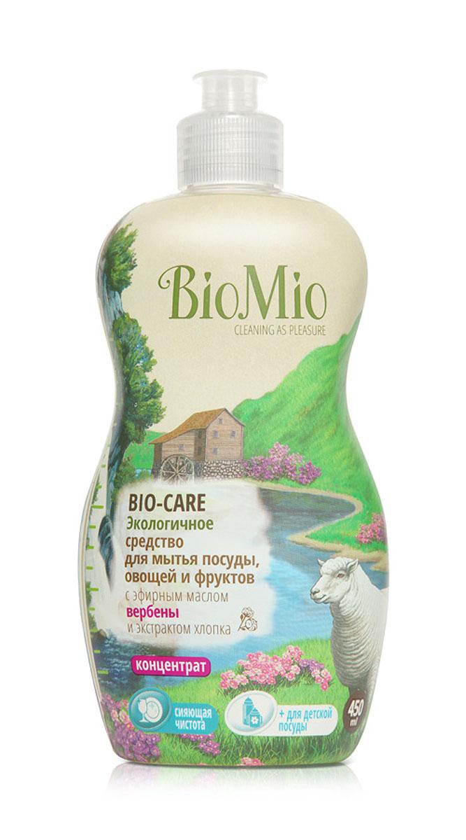 Средство для мытья посуды, овощей и фруктов BioMio, с эфирным маслом вербены, 450 млЭВ-242Многофункциональное эффективное средство BioMio с мягким безопасным действием идеально подходит для мытья детской посуды, овощей и фруктов. Концентрированная формула обеспечивает экономичный расход. Специальная формула с экстрактом хлопка обеспечивает мягкое и деликатное действие на кожу рук. Подтвержденный антибактериальный эффект с дополнительной защитой для всех членов семьи благодаря ионам серебра. Безопасно для окружающей среды. Аромат эфирного масла вербены повышает настроение, вдохновляет и настраивает на успех.Не содержит: фосфаты, агрессивные ПАВ, SLS/SLES, ПЭГ, хлор, нефтепродукты, искусственные ароматизаторы и красители. BioMio - линейка эффективных средств для дома, использование которых приносит только удовольствие. Уборка помогает не только очистить и гармонизировать свое пространство, но и себя, свои мысли, поэтому важно ее делать с радостью. Средства, созданные с любовью и заботой, помогут в этом и идеально справятся с загрязнениями, оставаясь при этом абсолютно безопасными и экологичными. Благодаря действию натуральных эфирных масел, они поднимут настроение и подарят наслаждение, а натуральные активные компоненты бережно позаботятся о коже рук во время стирки и уборки. Средства BioMio незаменимы, если в доме есть ребенок. Характеристики:Состав: 5-15% анионные ПАВ; Объем: 450 мл. Товар сертифицирован.Как выбрать качественную бытовую химию, безопасную для природы и людей. Статья OZON Гид