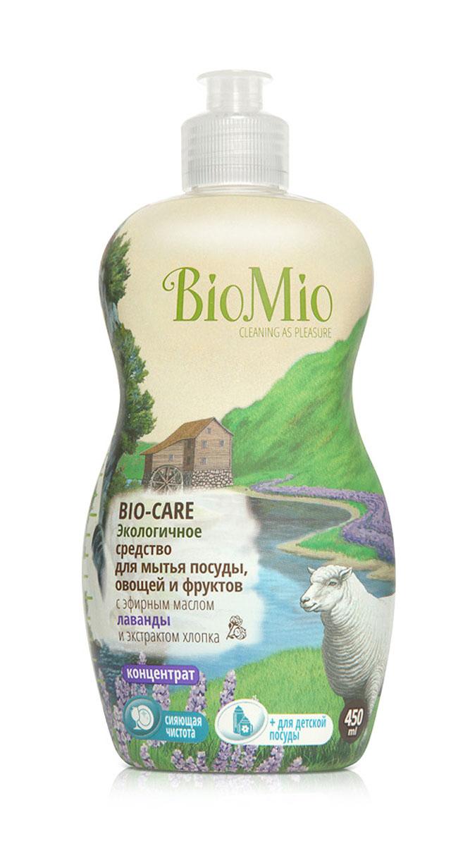 Средство для мытья посуды, овощей и фруктов BioMio, с эфирным маслом лаванды, 450 млЭЛ-241Многофункциональное эффективное средство BioMio с мягким безопасным действием идеально подходит для мытья детской посуды, овощей и фруктов. Концентрированная формула обеспечивает экономичный расход. Специальная формула с экстрактом хлопка обеспечивает мягкое и деликатное действие на кожу рук. Подтвержденный антибактериальный эффект с дополнительной защитой для всех членов семьи благодаря ионам серебра. Безопасно для окружающей среды. Аромат лаванды быстро восстанавливает силы, расслабляет и успокаивает.Не содержит: фосфаты, агрессивные ПАВ, SLS/SLES, ПЭГ, хлор, нефтепродукты, искусственные ароматизаторы и красители. BioMio - линейка эффективных средств для дома, использование которых приносит только удовольствие. Уборка помогает не только очистить и гармонизировать свое пространство, но и себя, свои мысли, поэтому важно ее делать с радостью. Средства, созданные с любовью и заботой, помогут в этом и идеально справятся с загрязнениями, оставаясь при этом абсолютно безопасными и экологичными. Благодаря действию натуральных эфирных масел, они поднимут настроение и подарят наслаждение, а натуральные активные компоненты бережно позаботятся о коже рук во время стирки и уборки. Средства BioMio незаменимы, если в доме есть ребенок. Характеристики:Состав: 5-15% анионные ПАВ; Объем: 450 мл. Товар сертифицирован.Как выбрать качественную бытовую химию, безопасную для природы и людей. Статья OZON Гид