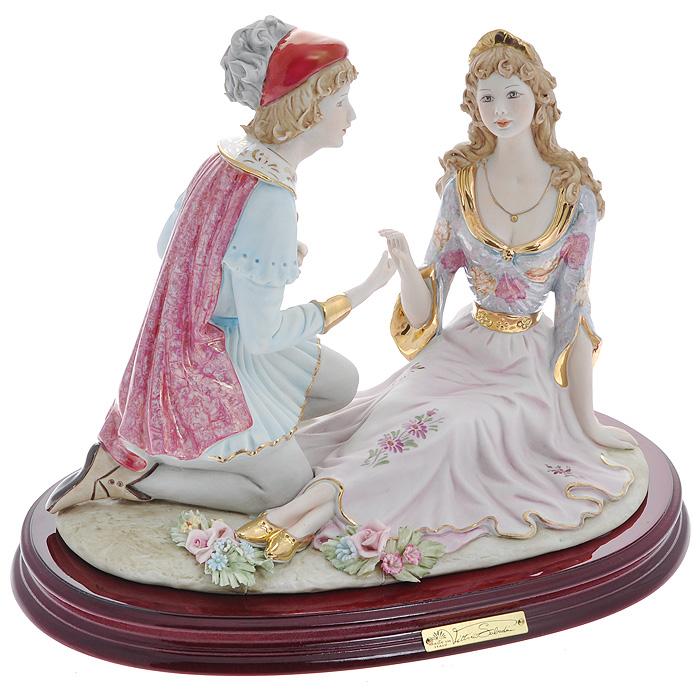 Статуэтка Ромео и Джульетта, 26 смSB224LALСтатуэтка Ромео и Джульетта, выполненная из фарфора, станет оригинальным подарком для всех любителей стильных вещиц. Статуэтка выполнена в виде влюбленной пары Ромео и Джульетта.Изысканный сувенир станет прекрасным дополнением к вашему интерьеру. Характеристики:Материал: фарфор. Высота статуэтки: 26 см. Размер статуэтки: 33 см х 22 см. Размер упаковки: 41 см х 31 см х 23 см. Артикул: SB224LAL. Изготовитель: Китай.