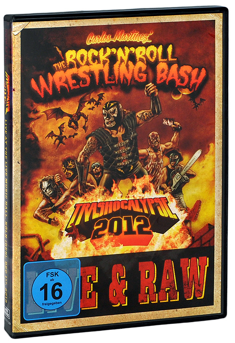 Rock'n'Roll Wrestling Bash: Trashocalypse 2012. Live At The Live Music Hall, Koln, Germany December 1st, 2012 (DVD + CD)