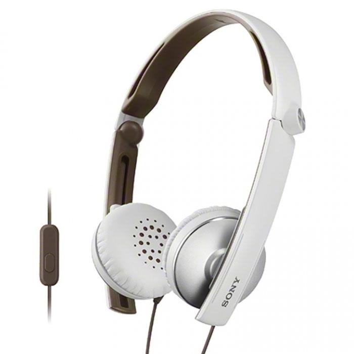 Sony MDR-S70APW, White наушники с гарнитуройMDR-S70APWНаушники Sony MDR-S70APB с гарнитурой для смартфонов. Не упустите ни одной детали звучания, где бы Вы ни находились — при необходимости эти складные и компактные наушники можно легко спрятать в сумку. Вы также можете использовать их для приема звонков с помощью ПДУ и микрофона.Диапазон воспроизводимых частот от 8 Гц до 24 кГц обеспечивает четкость высоких и низких частот. 30-миллиметровые мембраны с динамичными басами позволят услышать музыку такой, какой ее задумал автор. Эластичные подушечки из искусственной кожи надежно держатся на ушах, а внутренняя сторона обода покрыта мягкой резиной для дополнительного комфорта.
