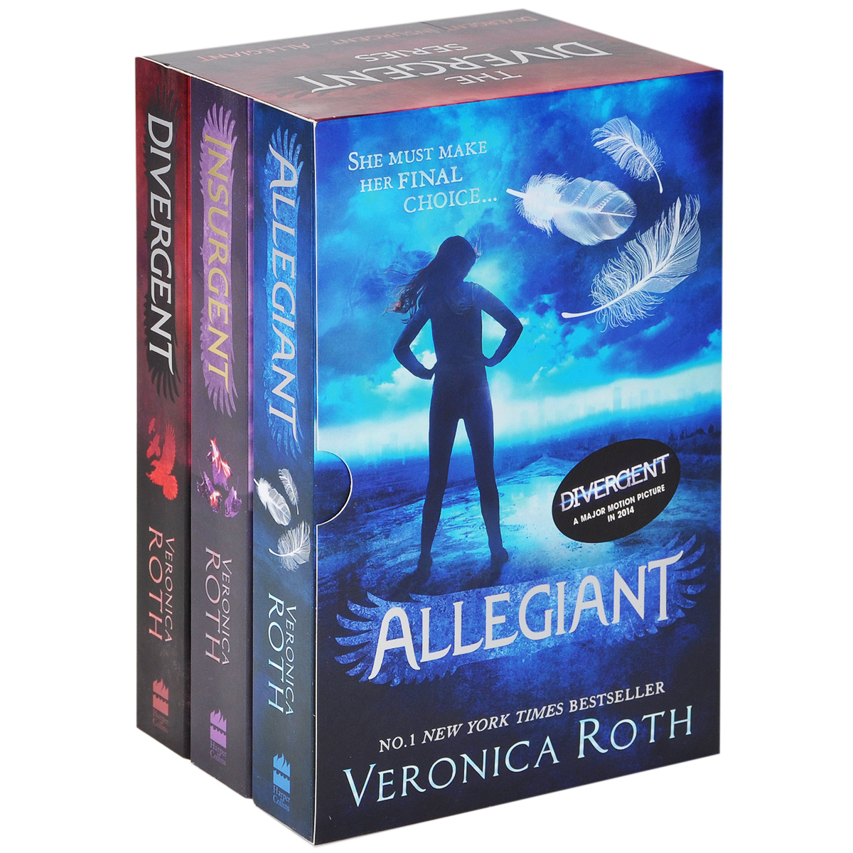 Divergent Series Boxed Set (комплект из 3 книг) four a divergent collection