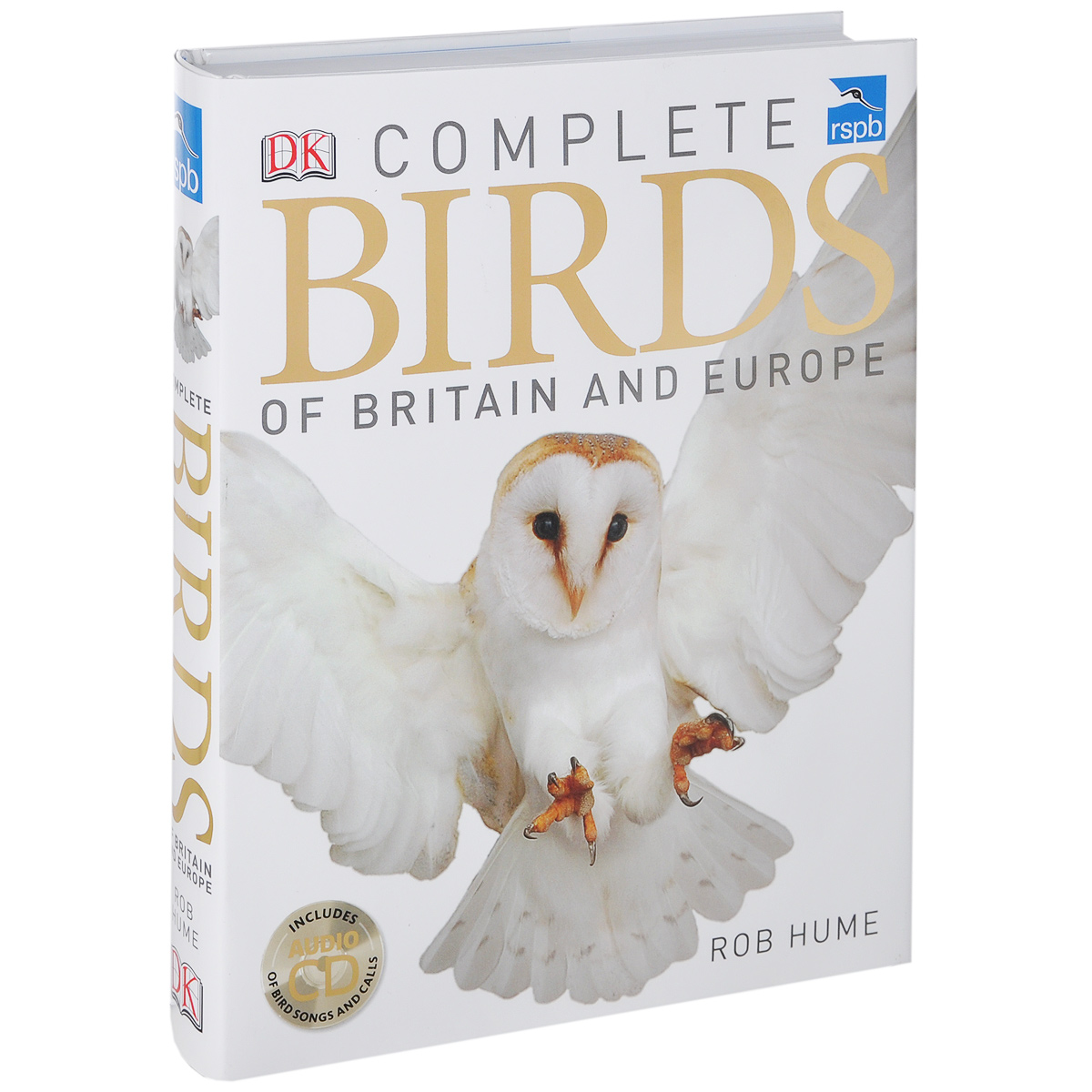 RSPB Complete Birds of Britainand (+ CD-ROM) green guide to birds of britain and europe
