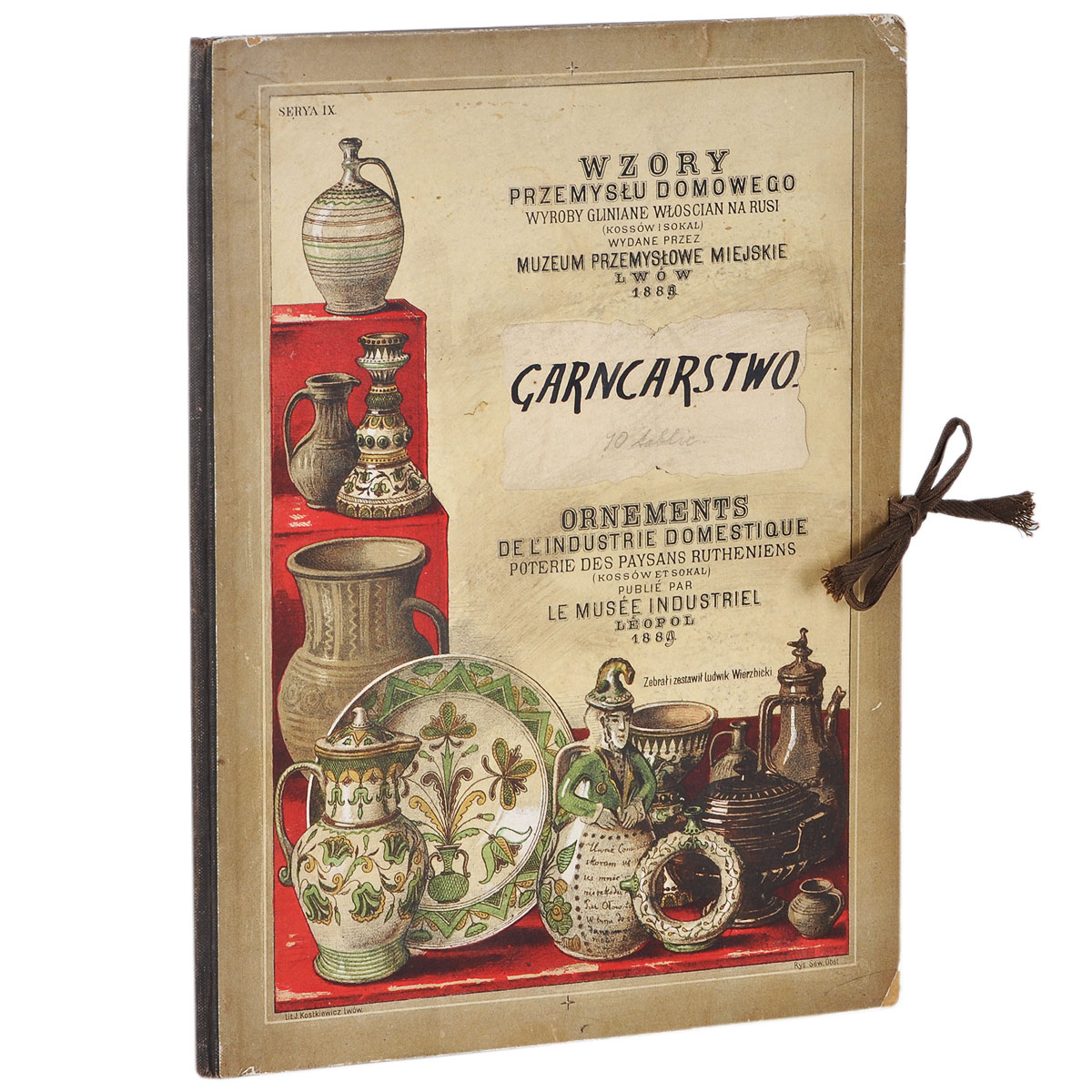 Wzory przemyslu domowego: Garncarstwo: Ornaments de L'Industrie Domestique american resin camera radio model creative decorative ornaments
